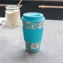 Bamboe to-go koffiebeker Zwaan