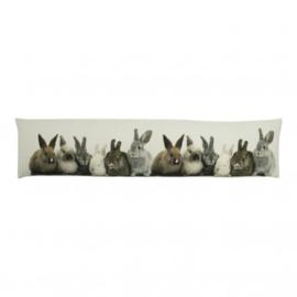 Tochtkussen konijntjes