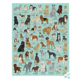 Dog lover's puzzel (1000 stukjes)
