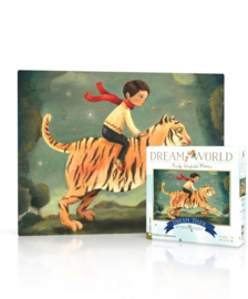 Dream World mini puzzel tijger (20 stukjes)