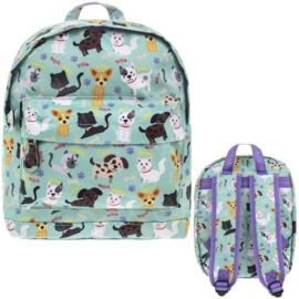Kinderrugzak Katten & Honden