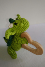 Rammelaar draak groen
