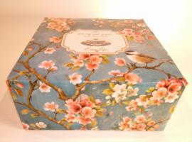 Kop en schotel Blossom II