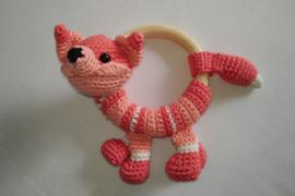 Rammelaar vos roze - deluxe