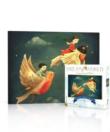 Dream World mini puzzel roodborstje (20 stukjes)