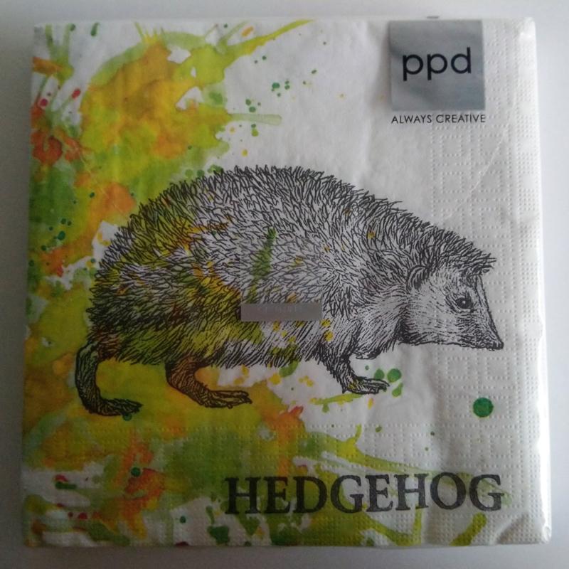 Servetten Autumn Hedgehog