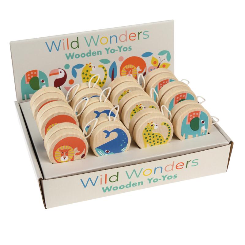 Houten jojo Wild Wonders