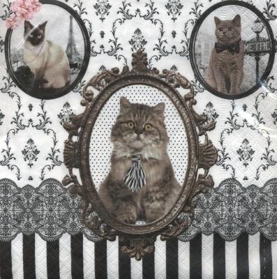 Servetten Barocco Cats