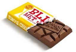 Chocolade - Blij met jou - Melk Noga  - Tony's Chocolonely