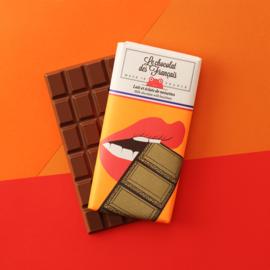 Chocolade - La Bouche - Melk Hazelnoot -  Le Chocolat des Français