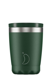 Chilly's Bottle - Chilly's Tea/Coffee Cup - Green Matte -  340 ml