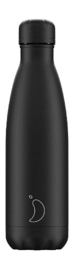 Chilly's Bottle - All Black - 500 ml