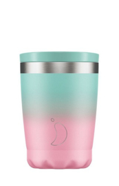 Chilly's Bottle - Chilly's Tea/Coffee Cup - Gradient Pastel -  340 ml
