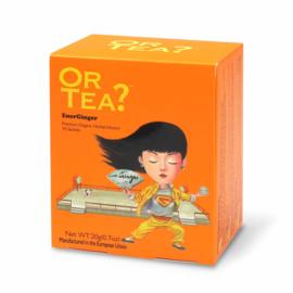 Doosje met 10 theezakjes - EnerGinger - Or Tea?