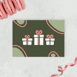 Kaart - Cadeautjes