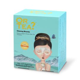 Doosje met 10 theezakjes - Ginseng Beauty - Or Tea?