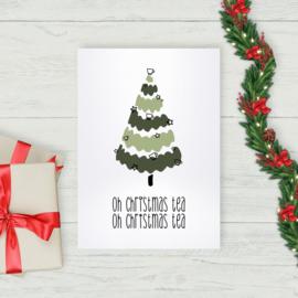 Kaart - Oh christmas tea