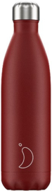 Chilly's Bottle - Red Matte - 750 ml