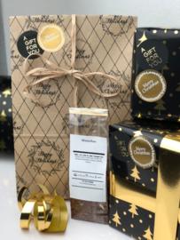 Kerst Cadeau - Theepot, theeblik & Kerstthee