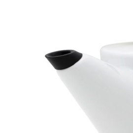 Theepot 'Infusion' -  Porselein 1,2 liter - Hout - Viva Scandinavia