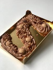 Chocoladeletter van De Echte Bakker - Groot - Melk