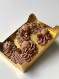 Chocoladeletter van De Echte Bakker - Klein - Melk
