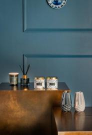 Figuurkaars Vaas - Donkerblauw 11.5 cm - Gusta