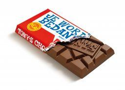 Chocolade - Je wordt bedankt - Melk  - Tony's Chocolonely