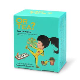 Doosje met 10 theezakjes - Kung Flu Fighter - Or Tea?