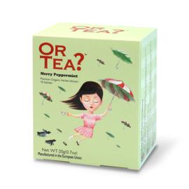 Doosje met 10 theezakjes - Merry Peppermint - Or Tea?