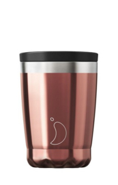 Chilly's Bottle - Chilly's Tea/Coffee Cup - Rose Gold -  340 ml