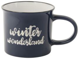 Theemok Winter Wonderland - 250 ml - Donkerblauw -  Gusta