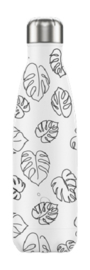Chilly's Bottle - Line Art Leafs - 500 ml