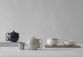 Theepot 'Jaimi tea for one' - Porselein 0,3 liter - Wit - Viva Scandinavia