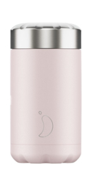 Food Pot - Chilly's Bottle- Blush Pink - 500 ml