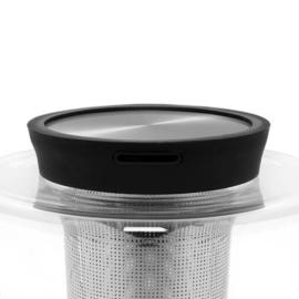 Theepot 'Infusion' - 1,2 liter - Zwart - Viva Scandinavia