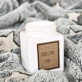Sojakaars - Rockstar Mom - Geur: Fresh Cotton