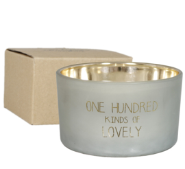 Sojakaars - 100 kinds of lovely - Geur: Minty Bamboo - My Flame