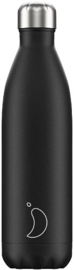 Chilly's Bottle - Black Matte - 750 ml