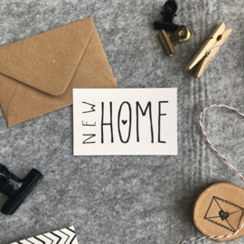 Minikaart - New Home