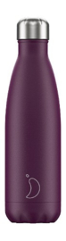 Chilly's Bottle - Purple Matte - 500 ml