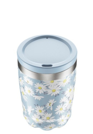 Chilly's Bottle - Chilly's Coffee/Tea Cup - Daisy -  340 ml