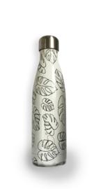 Chilly's Bottle - Line Art Leaves - 500 ml