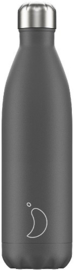 Chilly's Bottle - Grey Matte - 750 ml