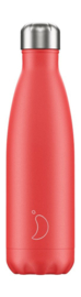 Chilly's Bottle - Summer Solids Strawberry - 500 ml