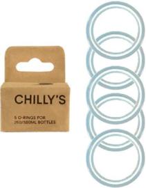 Chilly's Bottle - Box of 5 O-rings for 750 ml bottles