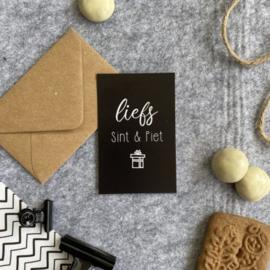 Minikaart - Liefs Sint & Piet