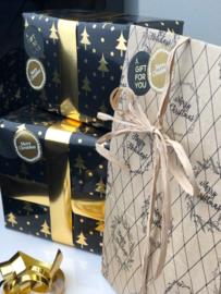 Kerst Cadeau - Theeblik, maatschep, theefilters & Winterthee