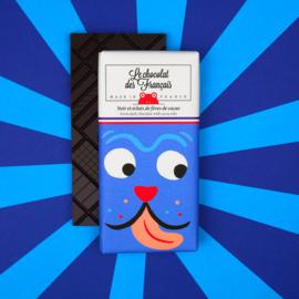 Chocolade - The Doggo - Puur  Cacaonibs -  Le Chocolat des Français