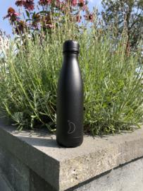 Chilly's Bottle - All Black - 500 ml
